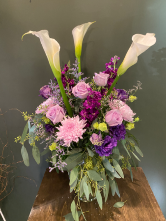Purple's Passion Vase