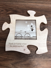 Puzzle frame Engraved especially for you