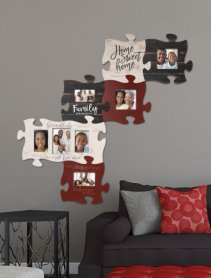 Puzzle Pieces On Wall Wall Frames