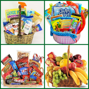 Quarantine Relief Baskets  in Southern Pines, NC | Hollyfield Design Inc.