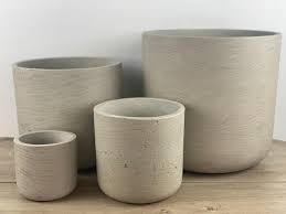 Quarry Cement composite pots