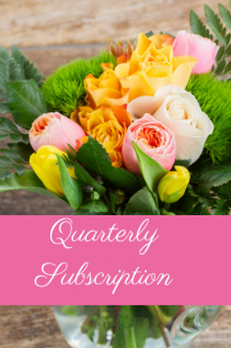 Quarterly Flower Subscription