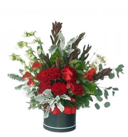 Queen of Mine Flower Box Arrangement