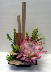 Queen Protea Arrangement Interior Decor