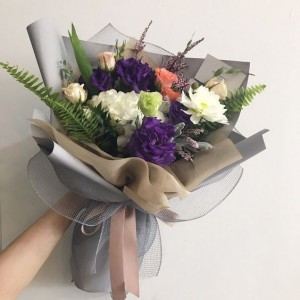 Quick Pick me Up ! Gift Wrapped Bouquet  in Oakville, ON | ANN'S FLOWER BOUTIQUE-Wedding & Event Florist