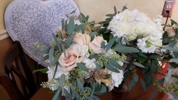 Quicksand rose bridal