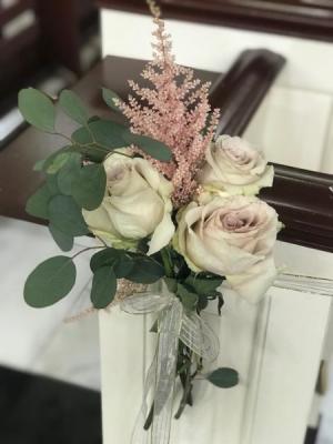 Quicksand Rose row arrangement  in Teaneck, NJ | Teaneck Flower Shop (A.A.A.A.A.)
