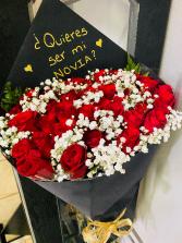 Quieres ser mi Novia?  Bouquet