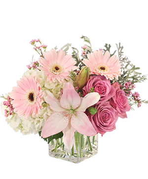 Quiet Dawn Bouquet in Crowley, LA | AURORA FLOWERS & GIFTS, INC.