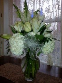 Quiet Elegance Sympathy Vase Arrangement
