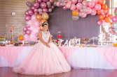 Quinceañera Balloon Garland  Balloon Garland