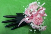 Quintessential Mini-Carnation Wrist Corsage