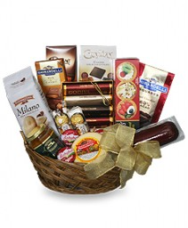 Adults Treat Basket Goodies Basket
