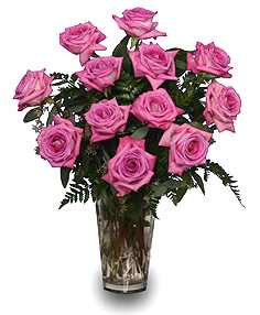 Sweet Athena's Roses Pink Roses Vase in Ventura, CA | Mom And Pop Flower Shop