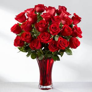 Two Dozen of Beautiful Roses  in Kanata, ON | Brunet Florist