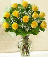 Rose Elegance Premium Long Stem Yellow Roses Roses