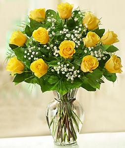 Rose Elegance Premium Long Stem Yellow Roses Roses