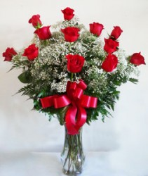 Blooming Love Premium  Long Stemmed Red Roses