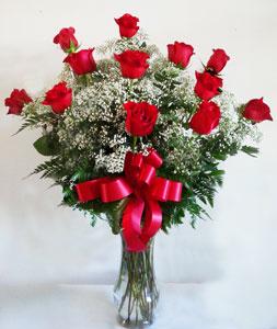 Blooming Love Premium  Long Stemmed Red Roses