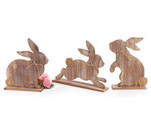 Rabbit Shelf Sitter Home Decor in Whitesboro, NY | KOWALSKI FLOWERS INC.