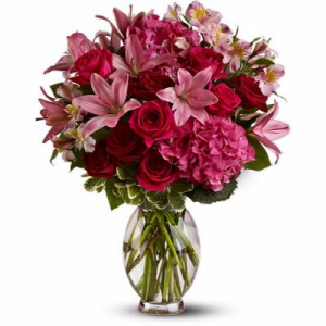 Racing Love Arrangement in Winston Salem, NC | RAE'S NORTH POINT FLORIST INC.