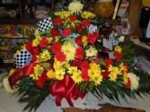 Racing Mix (TB 24) Funeral Basket