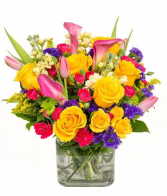 Radiance of Flowers Bouquet Delivery