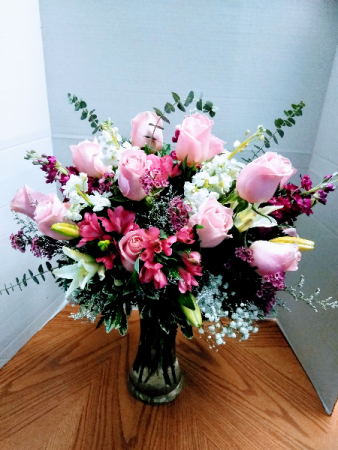 Radiance Vase Floral Arrangement