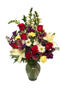 Radiant Charm Vase Arrangement