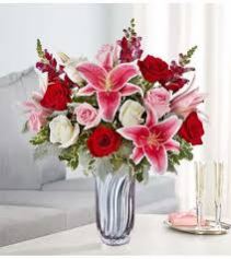 Radiant Devotion Valentine's Day Bouquet