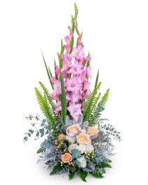 Radiant Faith Flower Arrangement