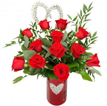 Radiant Love Premium Dozen Roses