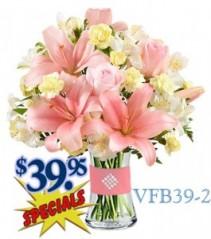Radiant Pink Floral Arrangement