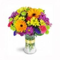 Radiant Rainbow Bouquet