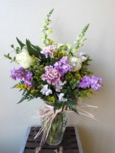 Radiant Reflections Custom Fitzgerald Flowers Arrangement