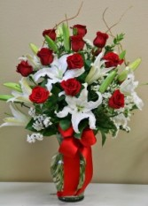 TRUE LOVE Arrangement of Flowers