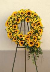 Radiant Sun Wreath