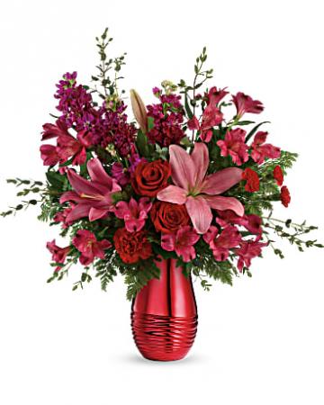radiant vase Arrangement