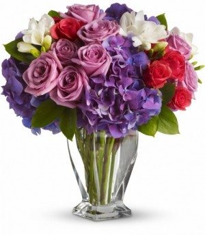 Rhapsody in Purple EN-20A in Teaneck, NJ | ENCKE FLOWERS