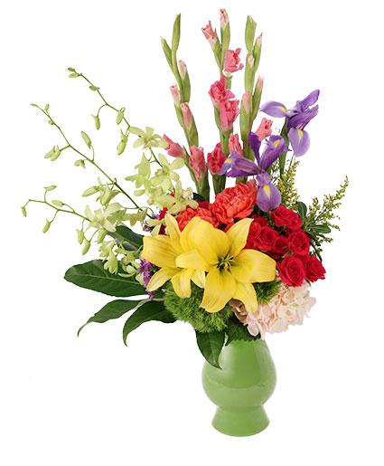 Rainbow Joy Floral Design