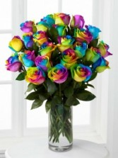 RAINBOW ROSES SPECIAL ORDER ONLY!! 3-7 DAYS NOTICE FOR THESE