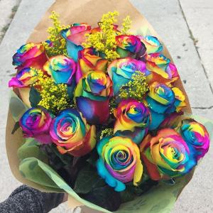 Rainbow Roses   in Ozone Park, NY | Heavenly Florist