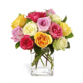 RAINBOW ROSES **LOCAL DELIVERY ONLY**