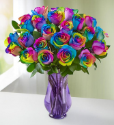 Rainbow Unicorn Roses