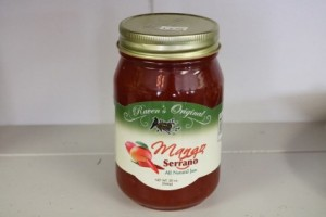 Raven's Original Mango Serrano Jam  in Richmond, VA | WG Miller Creations Florist & Gift Shop