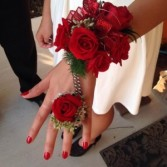 Ravishing Reds Corsage T&V Exclusive