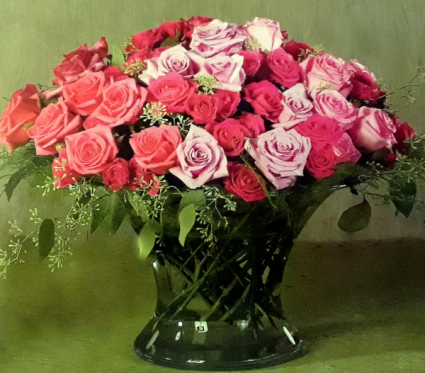 Ravishing Romantic Roses Fresh floral