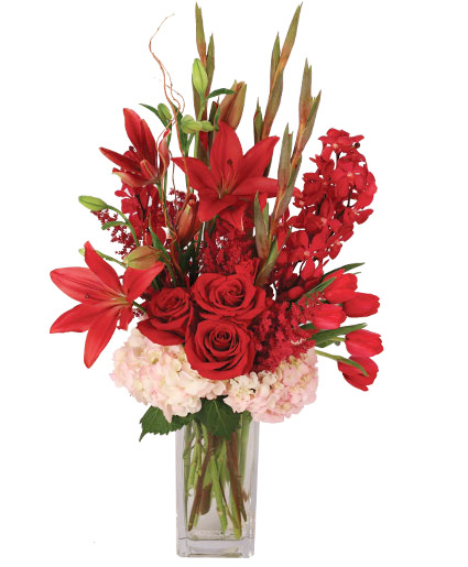 Ravishing Ruby Floral Design