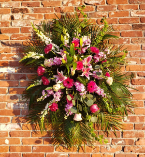 Rays of Light Spray Sympathy Arragement in Prospect, CT | Margot's Flowers & Gifts