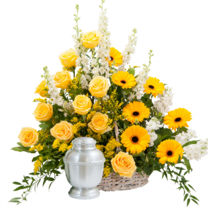 Rays of Sunshine Basket Surround   in Kirtland, OH | Kirtland Flower Barn